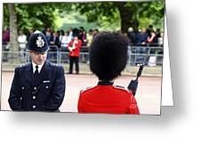 Where Can I Get A Uniform Like That Greeting Card by James Brunker
