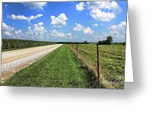 Where The Road May Take You Greeting Card by Cathy  Beharriell