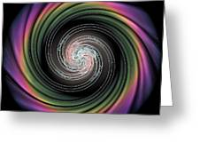 Whirl Wind Meditation Greeting Card by Michael Durst