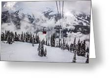 Whistler Blackcomb Weather Greeting Card by Alanna DPhoto