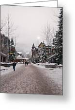 Whistler Street Scene Greeting Card by Phyllis Peterson