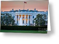 White House Greeting Card by Inge Johnsson