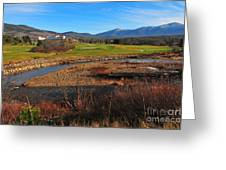 White Mountains Scenic Vista Greeting Card by Catherine Reusch  Daley