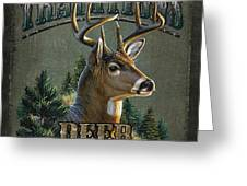 Whitetail deer Traditions Greeting Card by JQ Licensing