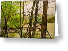 Whitewater Memorial State Park Greeting Card by Katrina West