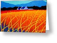 Wicklow Hills Greeting Card by John  Nolan