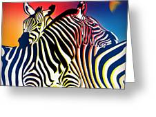 Wild Life 2 Greeting Card by Mark Ashkenazi