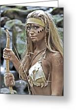 Wild Woman 1 Greeting Card by Don Ewing