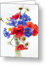 Wildflower Bouquet Greeting Card by Elena Elisseeva