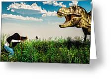 Wildlife Photographer Greeting Card by Bob Orsillo
