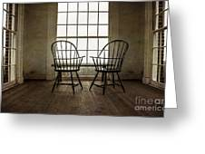 Will You Sit With Me? Greeting Card by Terry Rowe