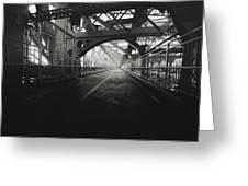 Williamsburg Bridge - New York City Greeting Card by Vivienne Gucwa