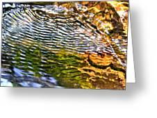 wind ripples Greeting Card by David Flitman