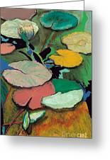 Windchime Spring Greeting Card by Allan P Friedlander