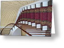 Winding Staircase Greeting Card by Kathleen Struckle