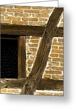 Window Frame Detail 1 Greeting Card by Heiko Koehrer-Wagner
