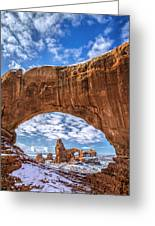 Window Through Time Greeting Card by Dustin  LeFevre