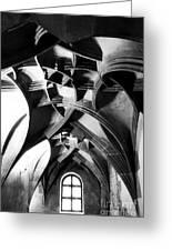Window View Greeting Card by John Rizzuto
