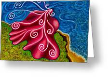 Winds Of Change Greeting Card by Annette Wagner