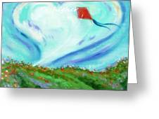 Winds Of The Heart Greeting Card by MarLa Hoover