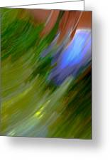 Windy Maginations - Abstract Art Greeting Card by Laria Saunders
