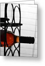 Wine Rack Greeting Card by Toppart Sweden