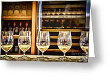 Wine Tasting  Greeting Card by Elena Elisseeva