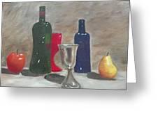 Wine Tasting Greeting Card by Janis  Tafoya