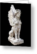 Winged Sphinx Greeting Card by Fabrizio Troiani