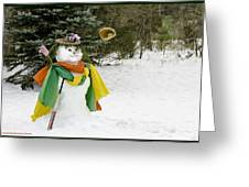 Winter Baseball Ball Gown  Greeting Card by LeeAnn McLaneGoetz McLaneGoetzStudioLLCcom