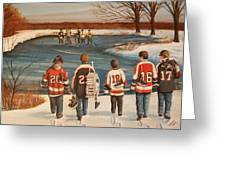 Winter Classic - 2010 Greeting Card by Ron  Genest