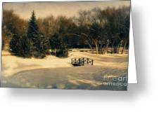 Winter Dream Greeting Card by Dorothy Pinder