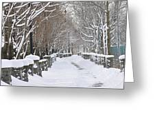Winter Greeting Card by Frederico Borges