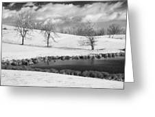 Winter In Kentucky Greeting Card by Wendell Thompson