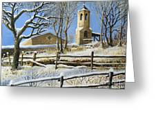 Winter In Stoykite Greeting Card by Kiril Stanchev