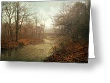 Winter Mist Greeting Card by Jessica Jenney