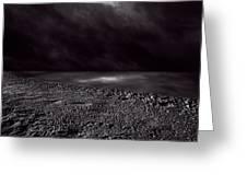 Winter Nightscape Greeting Card by Bob Orsillo