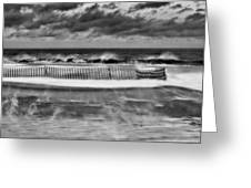 Winter On Long Island Greeting Card by JC Findley