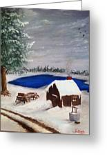 Winter Greeting Card by Roy J Moyle