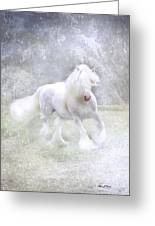 Winter Spirit Greeting Card by Fran J Scott