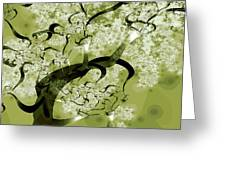 Wishing Tree Greeting Card by Anastasiya Malakhova