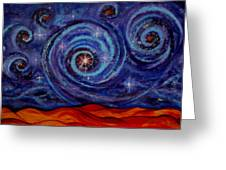 Witness Greeting Card by Kathy Peltomaa Lewis