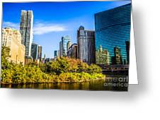 Wolf Point In Chicago Greeting Card by Paul Velgos