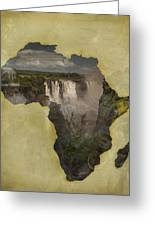 Women Of Africa Greeting Card by Nichon Thorstrom