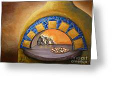 Wood Fired Greeting Card by Chad Berglund