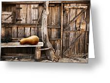Wooden Shack Greeting Card by Carlos Caetano