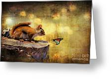 Woodland Wonder Greeting Card by Lois Bryan