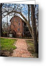 Wood's Grist Mill In Hobart Indiana Greeting Card by Paul Velgos