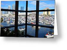 Worlds Biggest Boat Party Greeting Card by David Lee Thompson