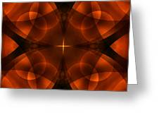 Worlds Collide 16 Greeting Card by Mike McGlothlen